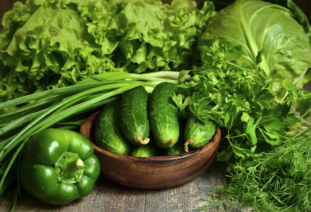 7 beneficios de los vegetales de hojas verdes