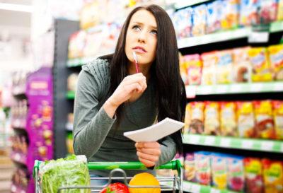 Lo que tu lista de comprassaludable debe contener