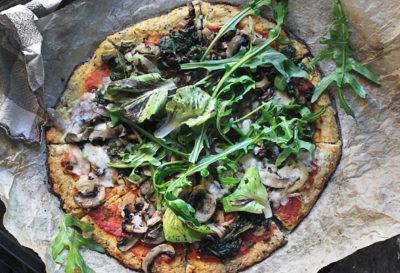 Receta: Pizza Verde