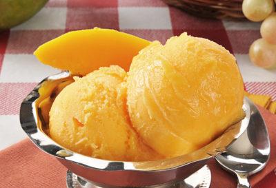 Receta: Helado casero de mango