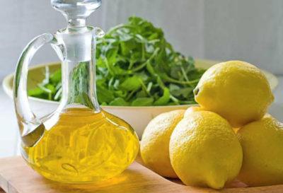 Inicia tus mañanas con aceite de oliva y limón