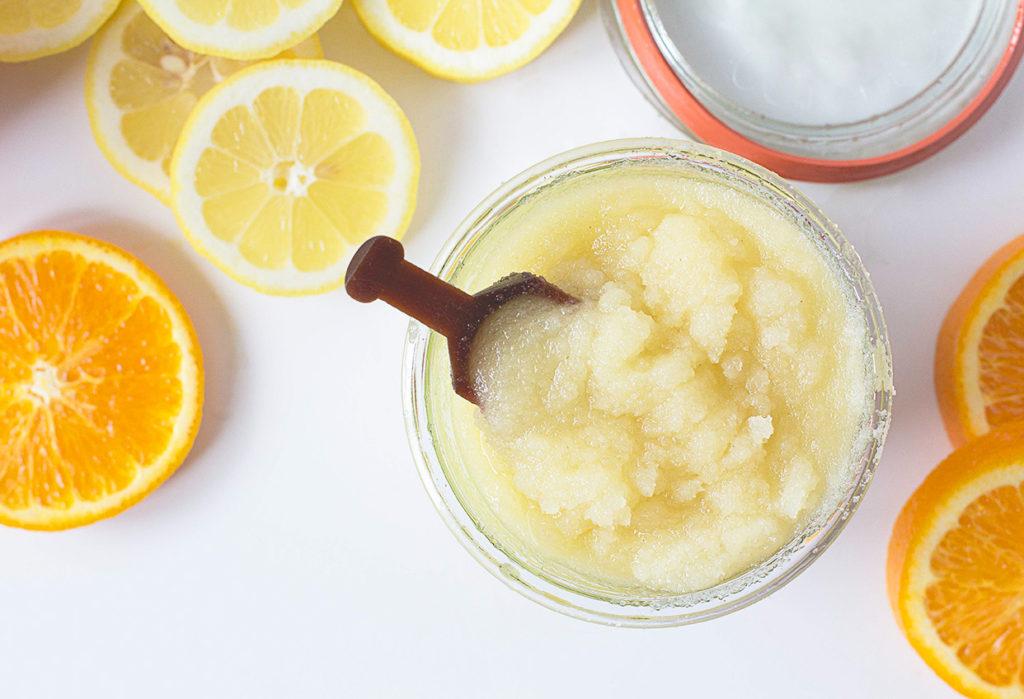 Exfoliante orgánico a base de cítricos