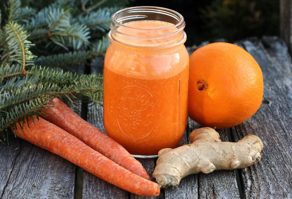 Jengibre y zanahoria para reforzar tu organismo