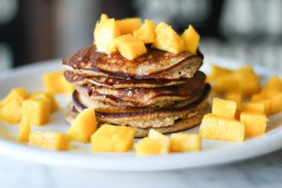 Receta para pancakes de avena